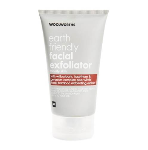 Woolworths' earth friendly face scrub