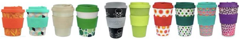 Selection of eCoffee Cup Designs