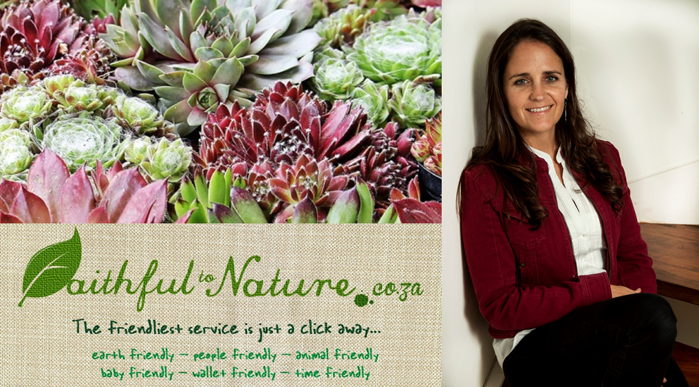 Robyn started Faithful to Nature in 2007 and hasn't looked back.